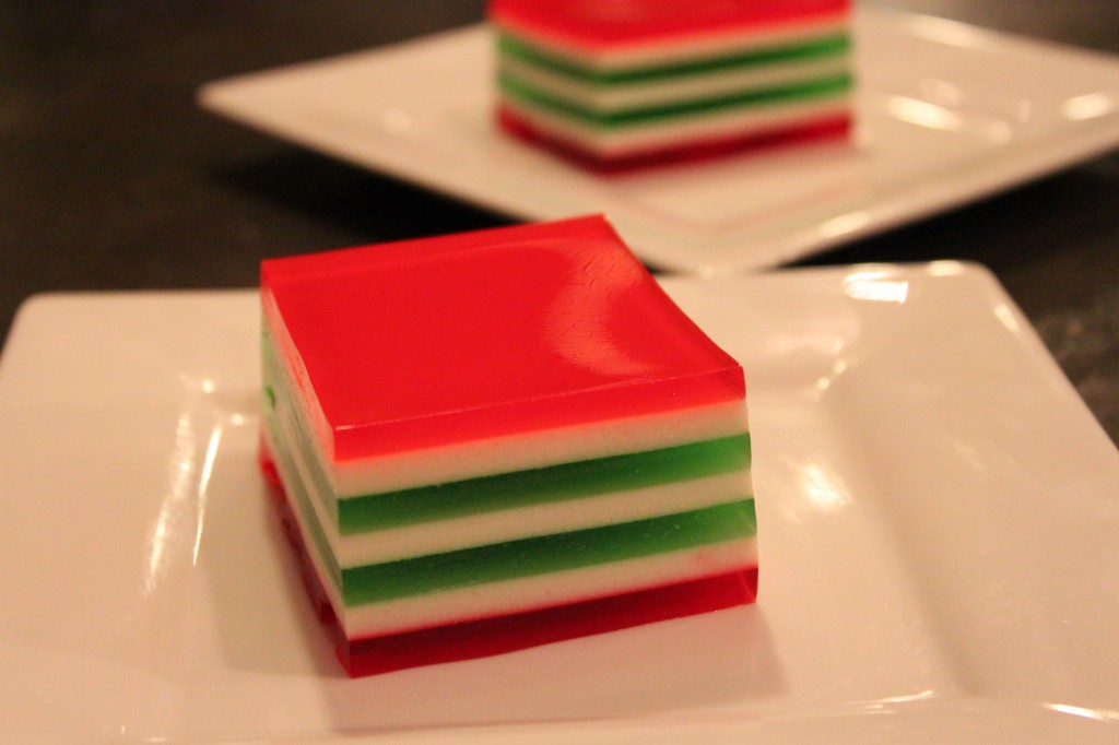 Ribbon Jello